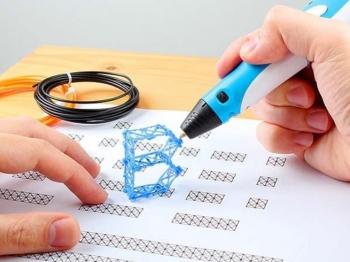 Ручка-принтер второго поколения 3D Pen Stereo 3D ручка