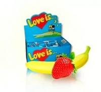 Жевательная резинка love IS клубника + банан