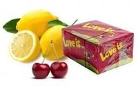 Жевательная резинка love IS (лав из) вишня+ лимон