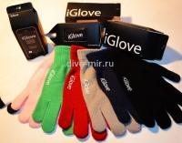 Перчатки iGlove цвет красный