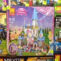 Когтсруктор Lele 79279 Счастливая принцесса Замок Золушки 669 деталей