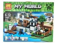 Конструктор Береговая цитадель Micro World Майнкрафт 517 деталей (Minecraft 79287)