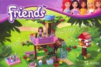 Конструктор Bela серия Friends / Подружки 10158 (Оливия и домик на дереве)
