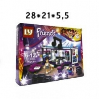 Конструктор LY Friends Popstar M3001